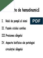 Hemodinamica FMAM 32 Ore 2008-2009