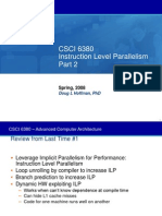08 - Instruction Level Parallelism, Part  2.ppt