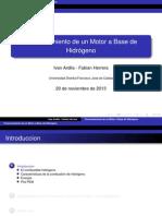 Motor Hidrogeno