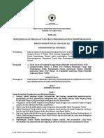 Peraturan Presiden  Nomor 71 Tahun 2012 tentang Penyelenggaraan Tanah Bagi Pembangunan Untuk Kepentingan Umum