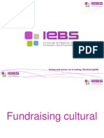 "Webinar ""Fundraising Cultural"""