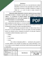 Tehnogie Si Management in Alimentatia Publica