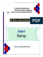 Chapter 6 - Bearings