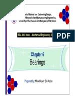 Chapter 6 - Bearings