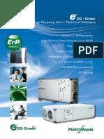 e 3co Crown ERU - Techinical Catalogue