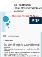 Cardio Pulmonary Cerebral Rescucitation and Management-eric W
