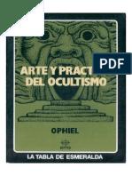 Ophiel - Arte y Práctica del Ocultismo.pdf