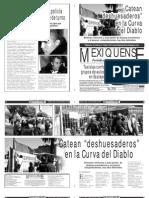 Versión impresa del periódico El mexiquense 28 noviembre 2013