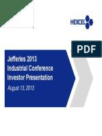HxlJefferies Investor Presentation 8-13-13