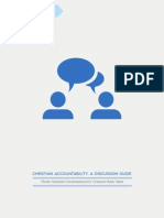Christian Accountability Discussion Guide