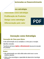 Estratégias de competição por produtos. Administração da produção