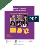 Libro 3 Mujeres Indigenas y Cambio Climatico