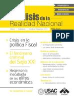 Edición Especial Análisis de la Realidad Nacional, No 6.