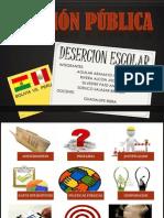 Presentacion Desercion Escolar Finallll