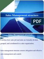 Sales Management Structure