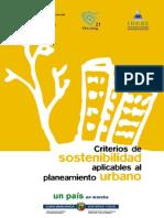Criterios de Sostenibilidad Aplicables Al Planeamiento Urbano