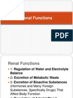 [4] Physiology Renal Functions
