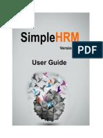 SimpleHRM_UserManual_V2.0