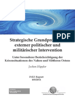 Jochen Hippler - Strategieprobleme Ziviler Und Militarischer Intervention