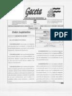 Ley General de Aguas (Decreto 181-2009)