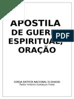 2086817 APOSTILA Guerra Espiritual Igreja
