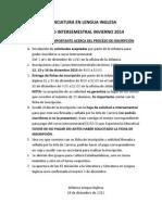 acerca del proceso de inscripción a inter inv 2014
