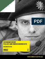 Ai-Konferenz 2010 Zu Polizei u. Menschenrechten, Dokumentation