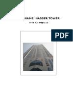 Nasser Tower Ftk Deploymment Issues