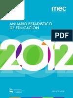 Anuario MEC 2012