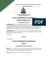 Ley de Contingencias Nacionales (Actualizada-07)