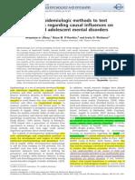 BASE LAHEY, 2009 Using Epidemiologic Methods to Test...Causal Influences