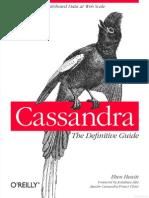 Banco de Dados _ Cassandra (Livro)