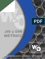 JIS y DIN Métrico