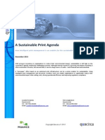 A Sustainable Print Agenda