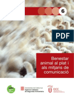 Benestar Animal Al Plat i Als Mitjans - SAM06