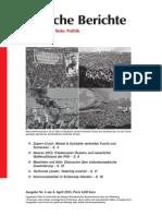 Politische Berichte Nr.04 / 2013