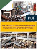 130607 Plan Integral Apoyo Comercio 2013