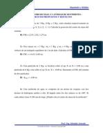 Tema IV - Centro de Masa y Cantidad de Movimiento