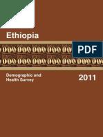 Demographic and Health Survey 2011 - Ethiopia