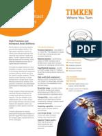Angular Contact Thin Section Product Sheet