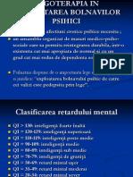 c7. Ergoterapia in Reh. b Cr. Psihice
