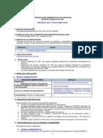 Convocatoria CAS N° 379 - Secretaría General del Concejo
