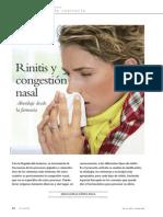Rinitis y Congestion