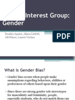 special interest group - gender final 1