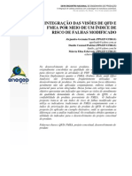 Integração QFD e FMEA
