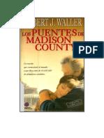 Los Puentes de Madison County de Waller Robert