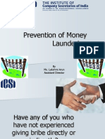 Prevention of Money Laundering- Lakshmi Arun