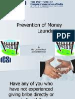 Prevention of Money Laundering- Lakshmi Arun