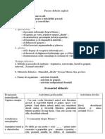 Proiect Didactic in Clasa a x u