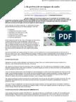 Circuitos de protección en equipos de audio